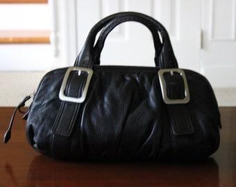 Black Colehaan leather purse excellent condition