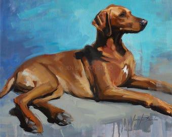 Dog Portrait Giclée Fine Art Print