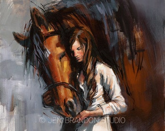 Crown Prince Horse Art Giclée Fine Art Print