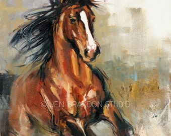 The Stallion Giclée Fine Art Print