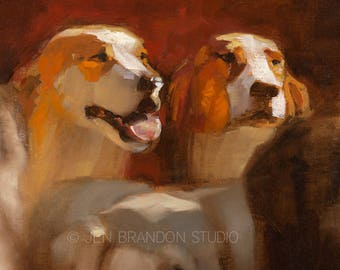 Dog Portraits Giclée Fine Art Print