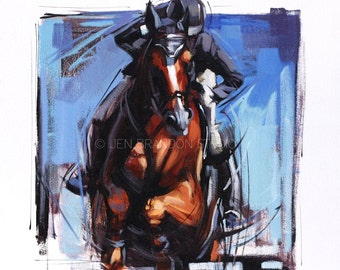 Equine Energy Oil Painting