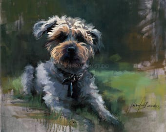 Pet Portrait Giclée Fine Art Print