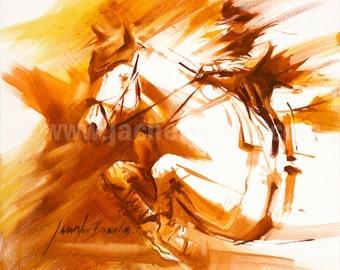 Hunter Jumper Giclée Fine Art Print