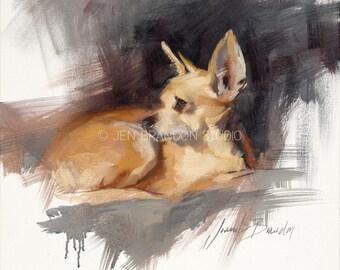 ChihuahuaGiclée Fine Art Print