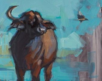 Buffalo Giclée Fine Art Print