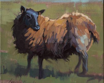 Black Sheep Giclée Fine Art Print