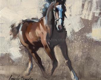 Horse Running Giclée Fine Art Print