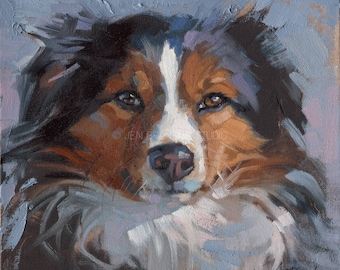 Dog Portrait Giclée Fine Art Print