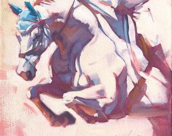 Horse Art Giclée Fine Art Print