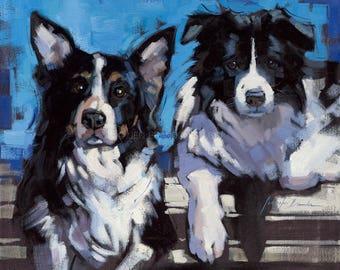 Dog Portraits Giclée Fine Art Print