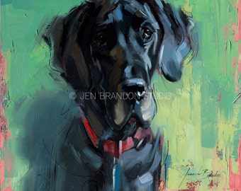 Mac the Great Dane Giclée Fine Art Print
