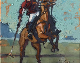 Polo Art Giclée Fine Art Print