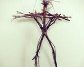 Blair Witch Stickman Totem Scarecrow Wiccan Door Hanger