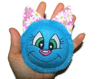 Cat Toy - Cute Catnip Face - Catnip Toy
