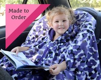 Car Seat Poncho, Car Seat Poncho Boy, Carseat Poncho Girl,  Toddler Carseat Poncho,