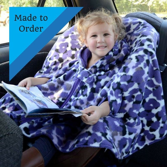 Car Seat Poncho Boy Girls Coat