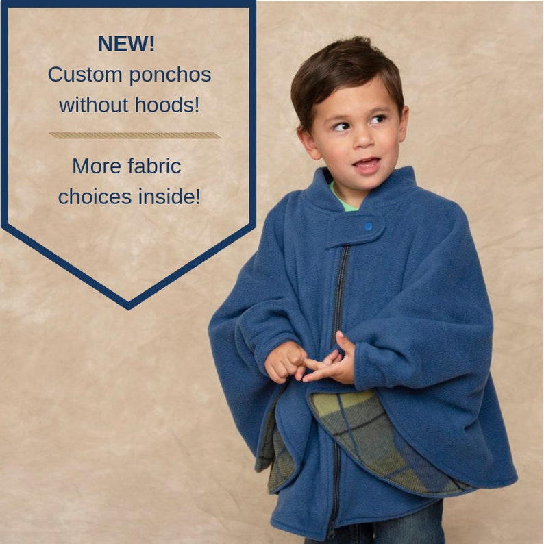 165454705 Car Seat Poncho without Hood Poncho Boy Girl Infant