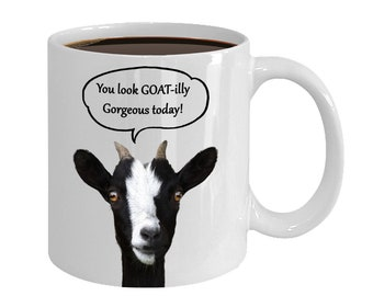 Funny goat mug for goat owner, lover or breeder