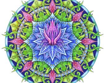 BioMorph Botanical Mandala IV