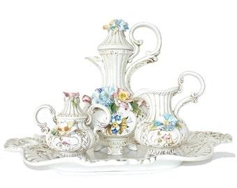 Italian Antique Coffee and Tea Set