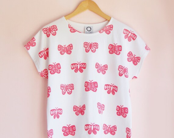 Multi Butterfly Shirt
