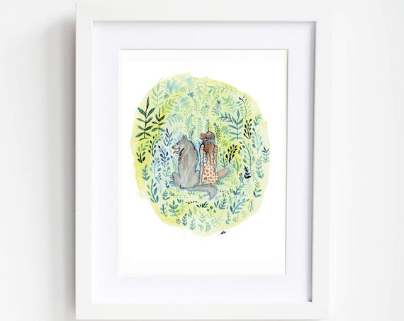 SALE! New Friends Art Print