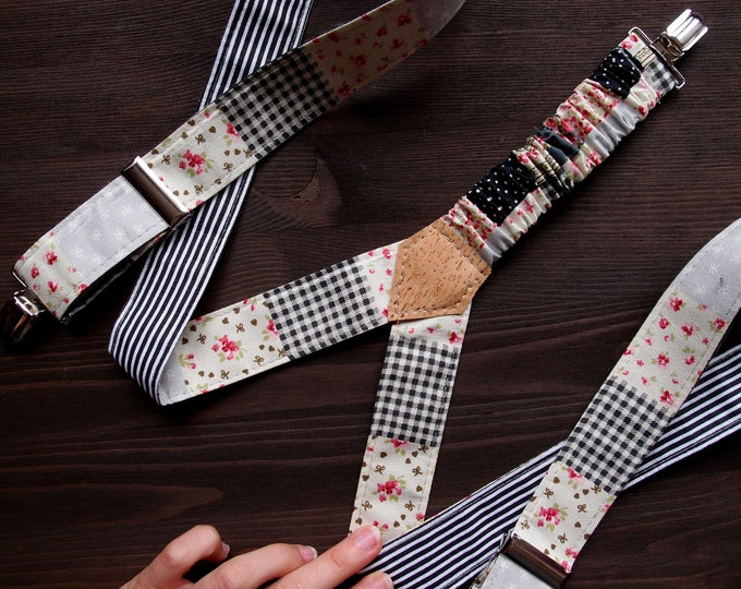 Casual Suspenders  Suspenders, Striped Braces, Romantic Women Suspenders, women christmas gift ideas, girlfriend gift,