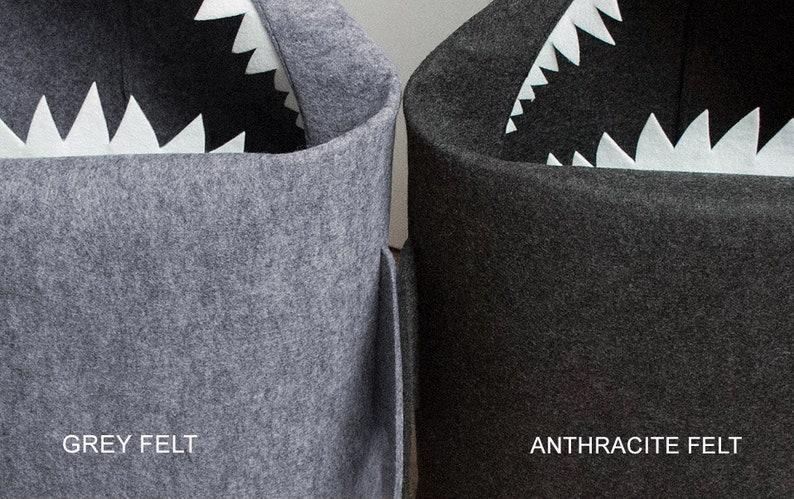 1293d68c26b30 Shark filcowy kosz do prania w łazience lub pokoju dziecięcym
