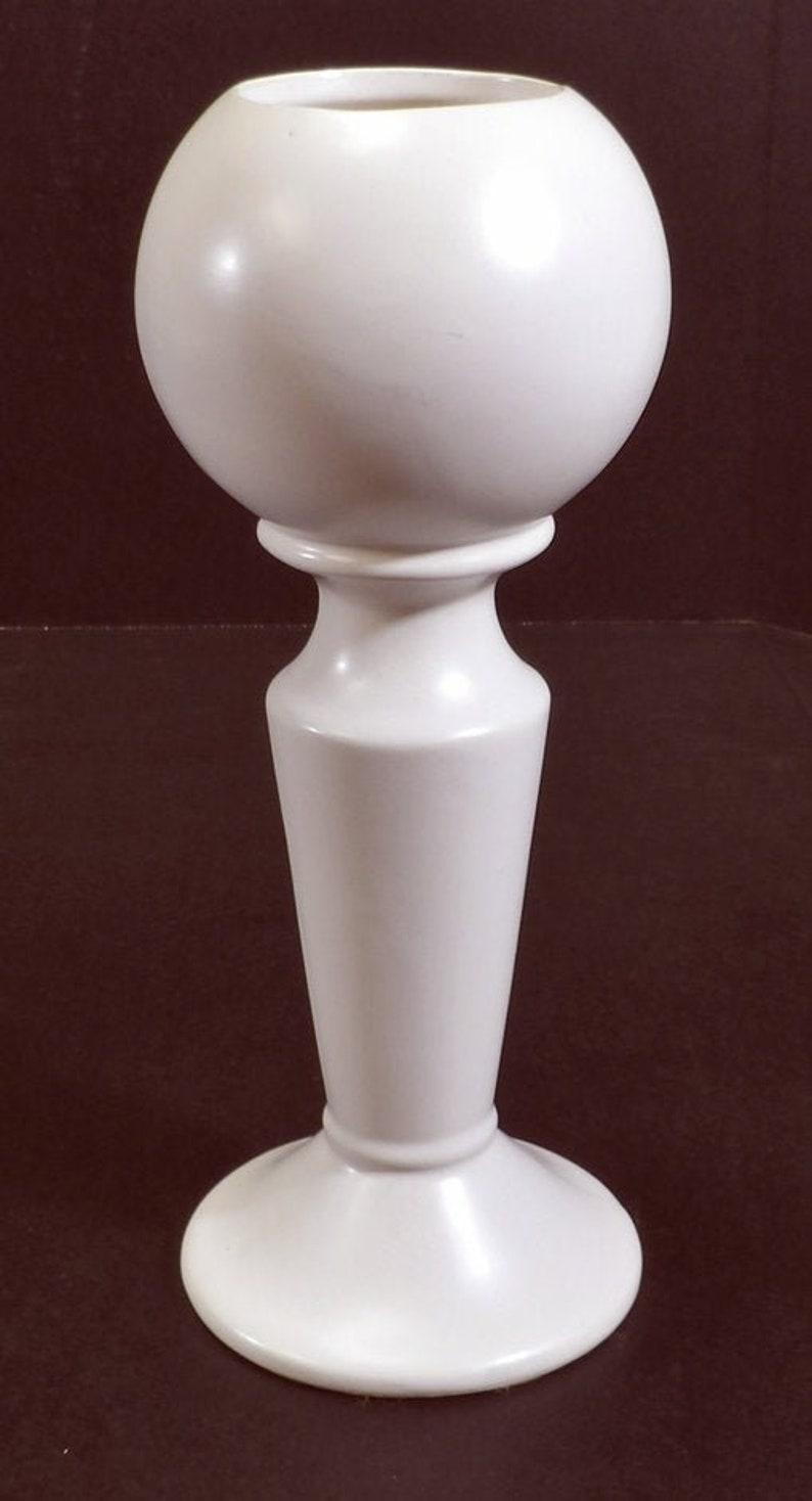 Vintage Unique Form Mid Century Modern Eames Era Art Pottery Vase