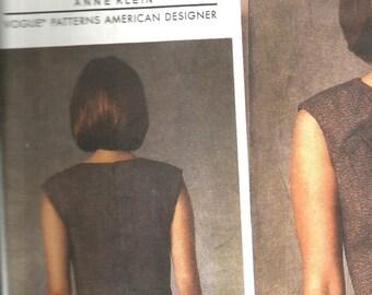 Vogue 1420 new uncut size 6 - 14 lovely womans dress