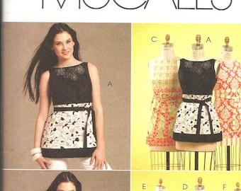McCalls 5882 uncut size 4 - 12 womans summer dress or blouse