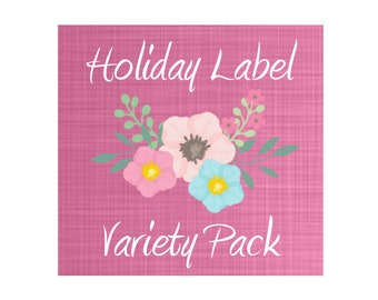 Storage container decal, labels, organization, Christmas, Halloween, Thanksgiving, Birthday, storage decal, 4th of July, Easter,