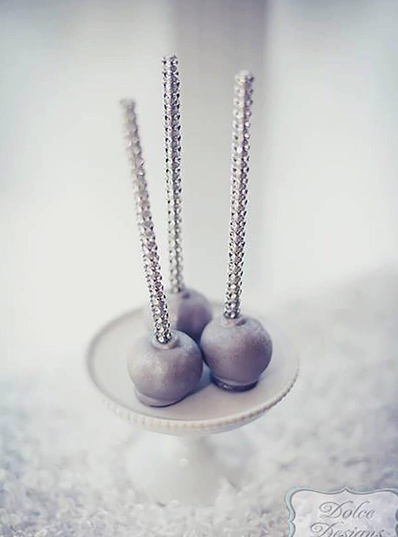 e7e6ab51b5c Silver Shimmer Sticks NEW TREND ALERT Glam for Lollipops