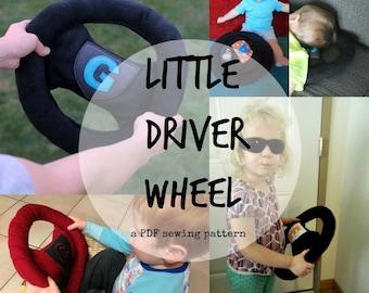 Little Driver Wheel PDF Sewing Pattern