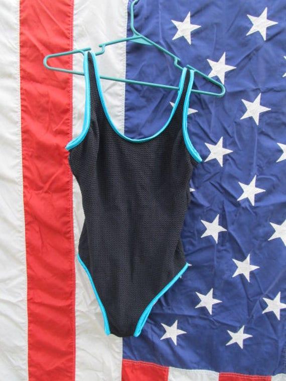 1980's One Piece Swimsuit