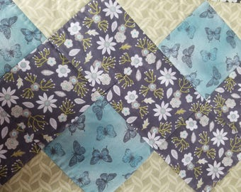 Spring Flowers and Butterflies table runner