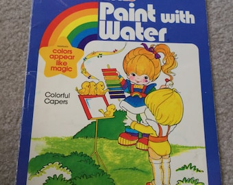 Vintage Coloring Books Etsy