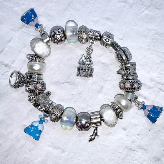 Disney Cinderella Charm Bracelet in a Pandora 925 or other   Etsy