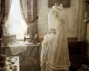 The Sewing Room, Halloween, Vintage Style Photos, Black and White Photography, Photography, Gothic, Fine Art Photography