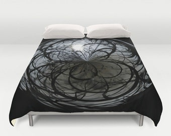 Mysterious, Orb, Duvet Cover, Duvet, Queen Duvet Cover, Bedspread, Abstract, Photography, Home Decor, Housewarming Gift, Unique Gift