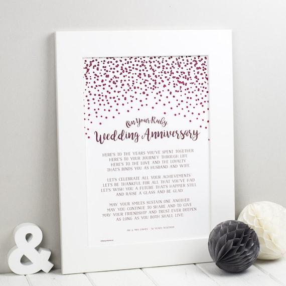 Kamień Milowy Rocznicy ślubu Wiersze Silver Anniversary Ruby Anniversary Złote Rocznice Rocznica Diamond 10 20th 30