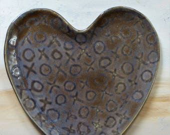 Not Your Average Heart Plate