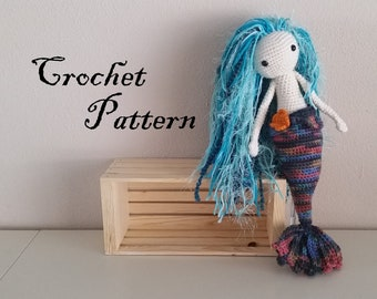 Sealyn Mermaid Crochet Amigurumi PATTERN