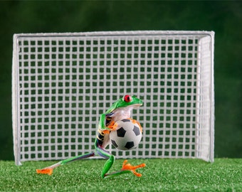 Soccer Frog sports, Frog with soccer ball