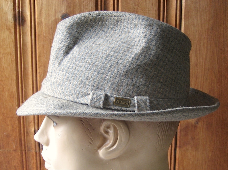 8b3227a0926d6 Fedora by Adam Vintage Designer Lined Men s Hat Muted