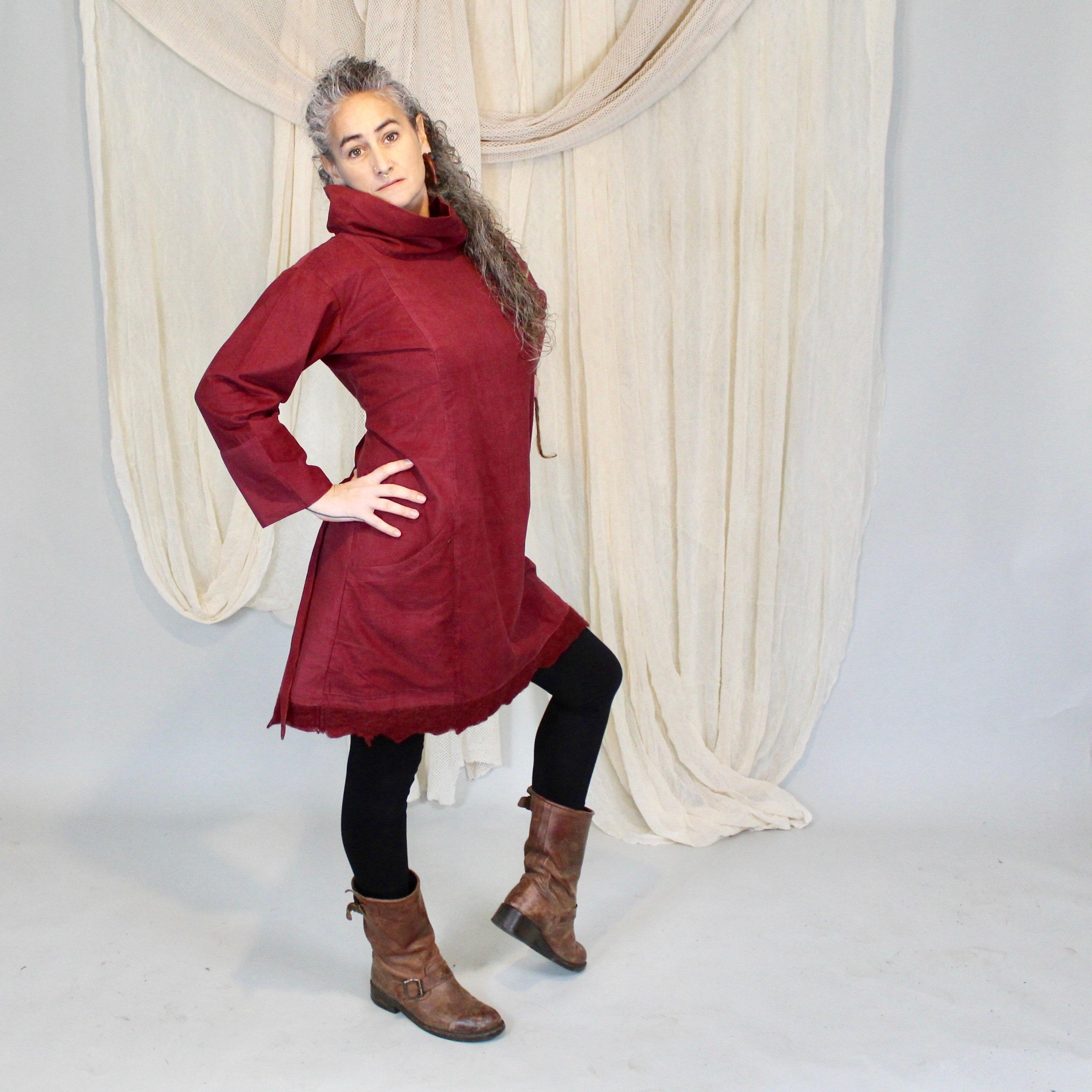 016f15d171 Corduroy winter dress Lila Dress Bohemian