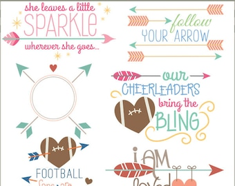 Arrow Clipart Quotes -Personal and Limited Commercial Use- arrow sayings Clipart