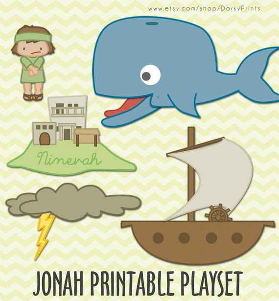 photo about Jonah and the Whale Printable referred to as Jonah and the Whale Printable PDF - bible printables - scripture printable - Prompt Obtain