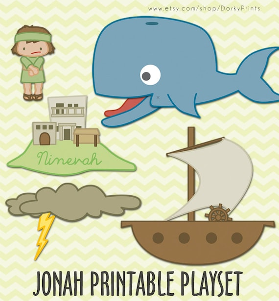 photo regarding Jonah and the Whale Printable titled Jonah and the Whale Printable PDF - bible printables - scripture printable - Prompt Down load